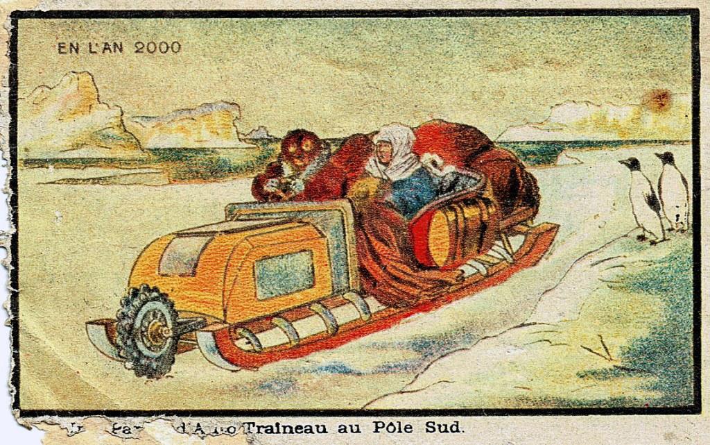 Auto Traîneau