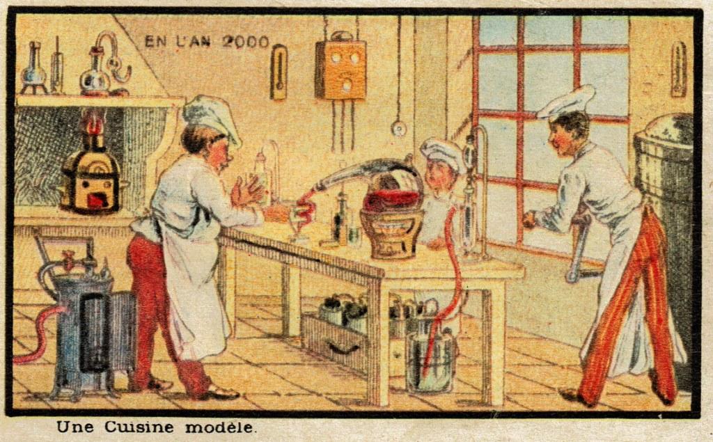 cuisine moderne