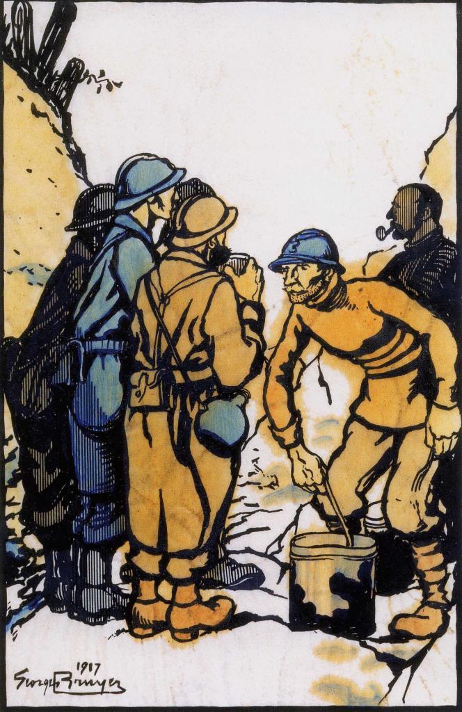 Dessin de soldats 14-18 (108)