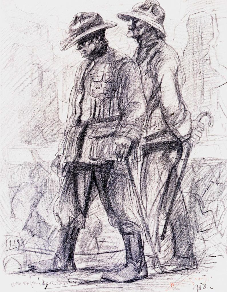 Dessin de soldats 14-18 (118)