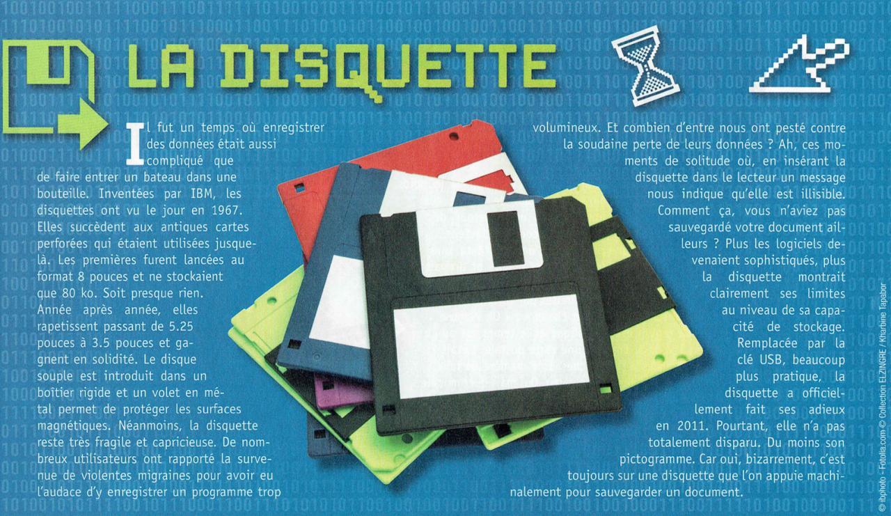 la disquette