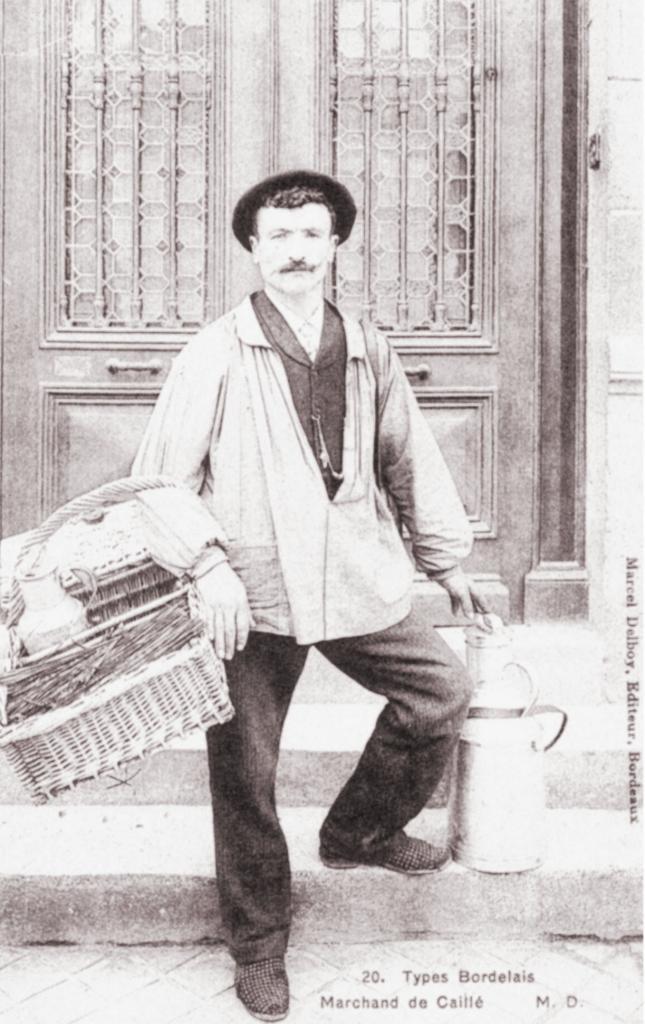 Le marchand de caillé (lait)