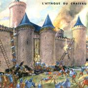 10 attaque du chateau fort