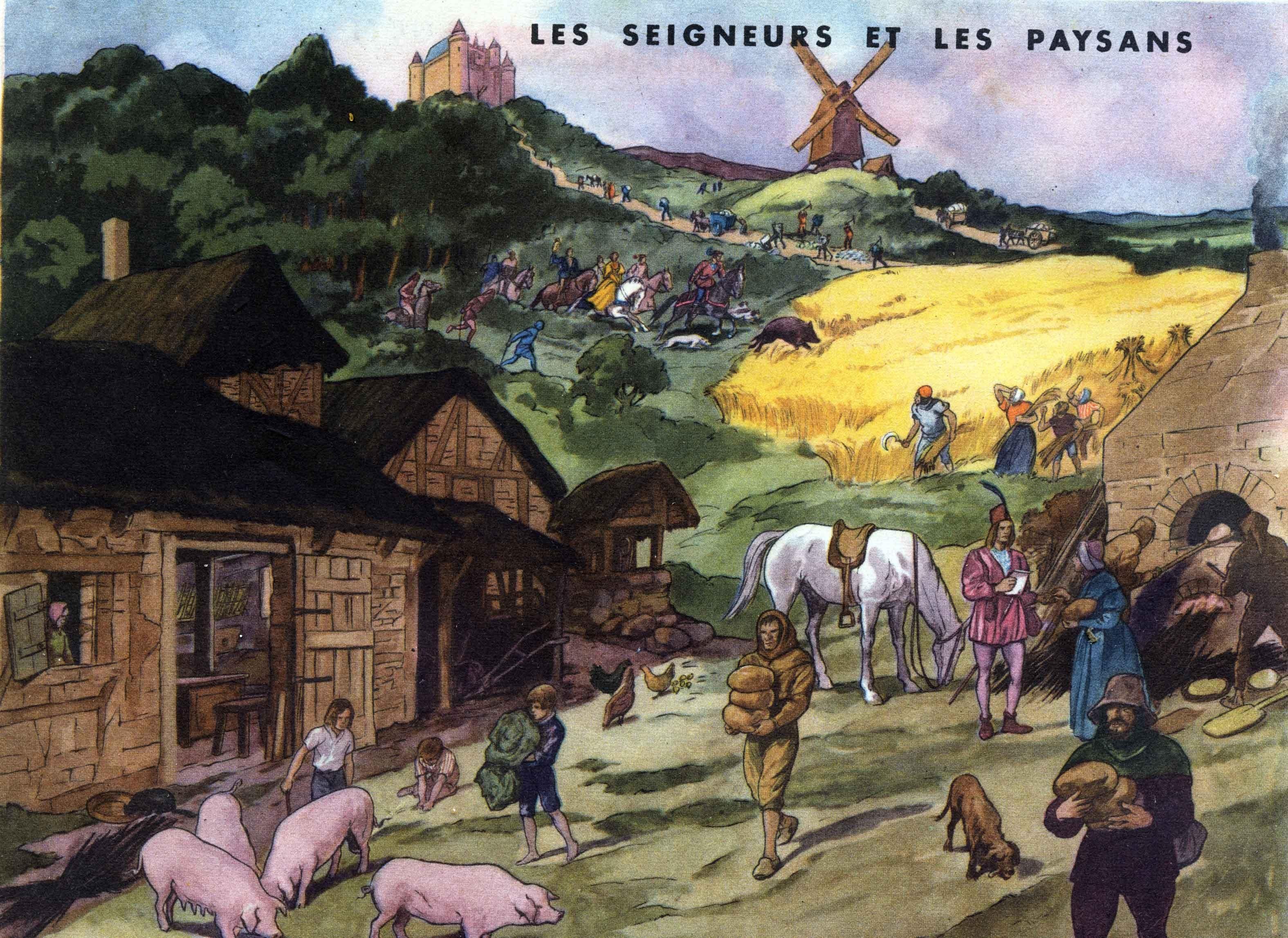 14 les seigneurs et paysans