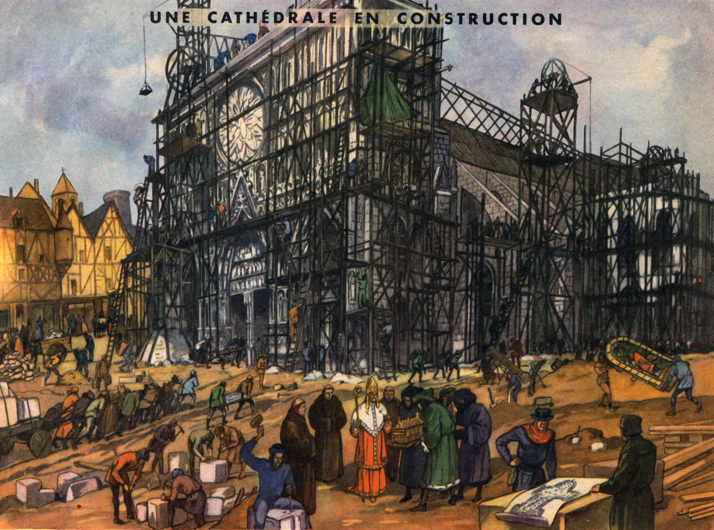 15 une cathedrale en construction