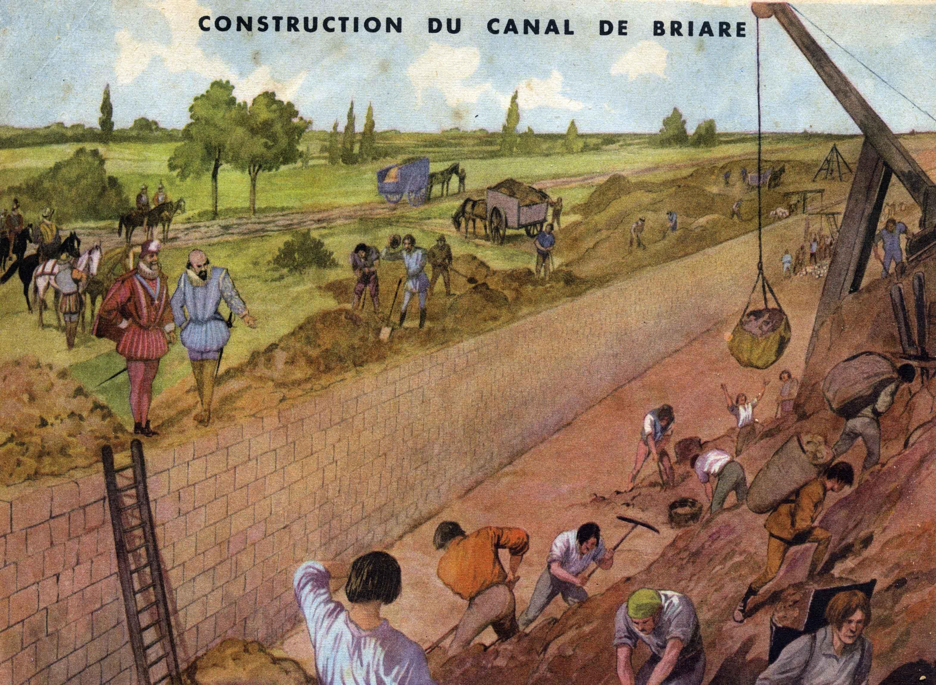 32 construction du canal de briare