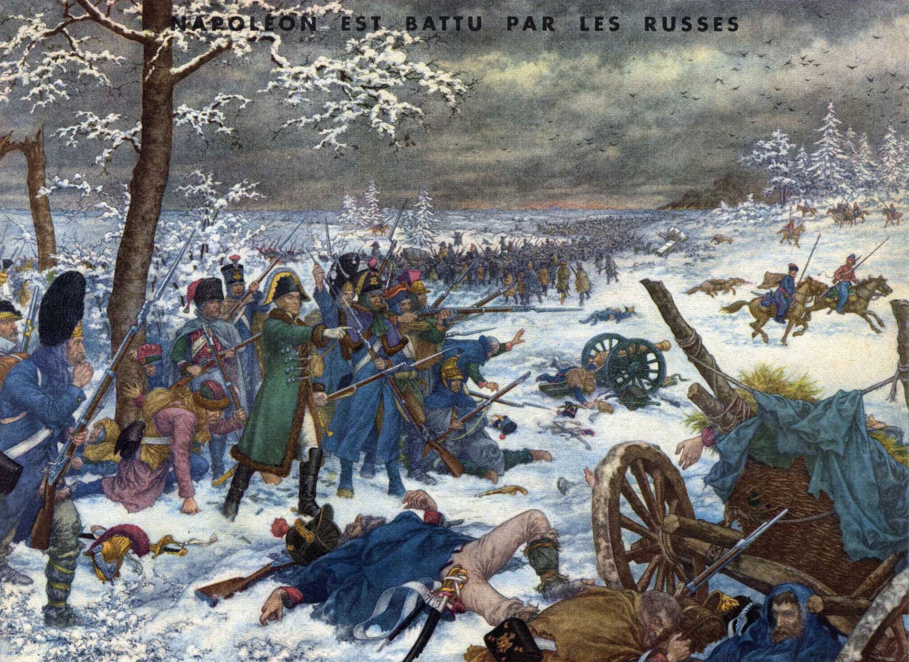 57 napoleon battu par les russes