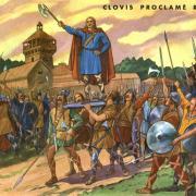 6 clovis proclame roi