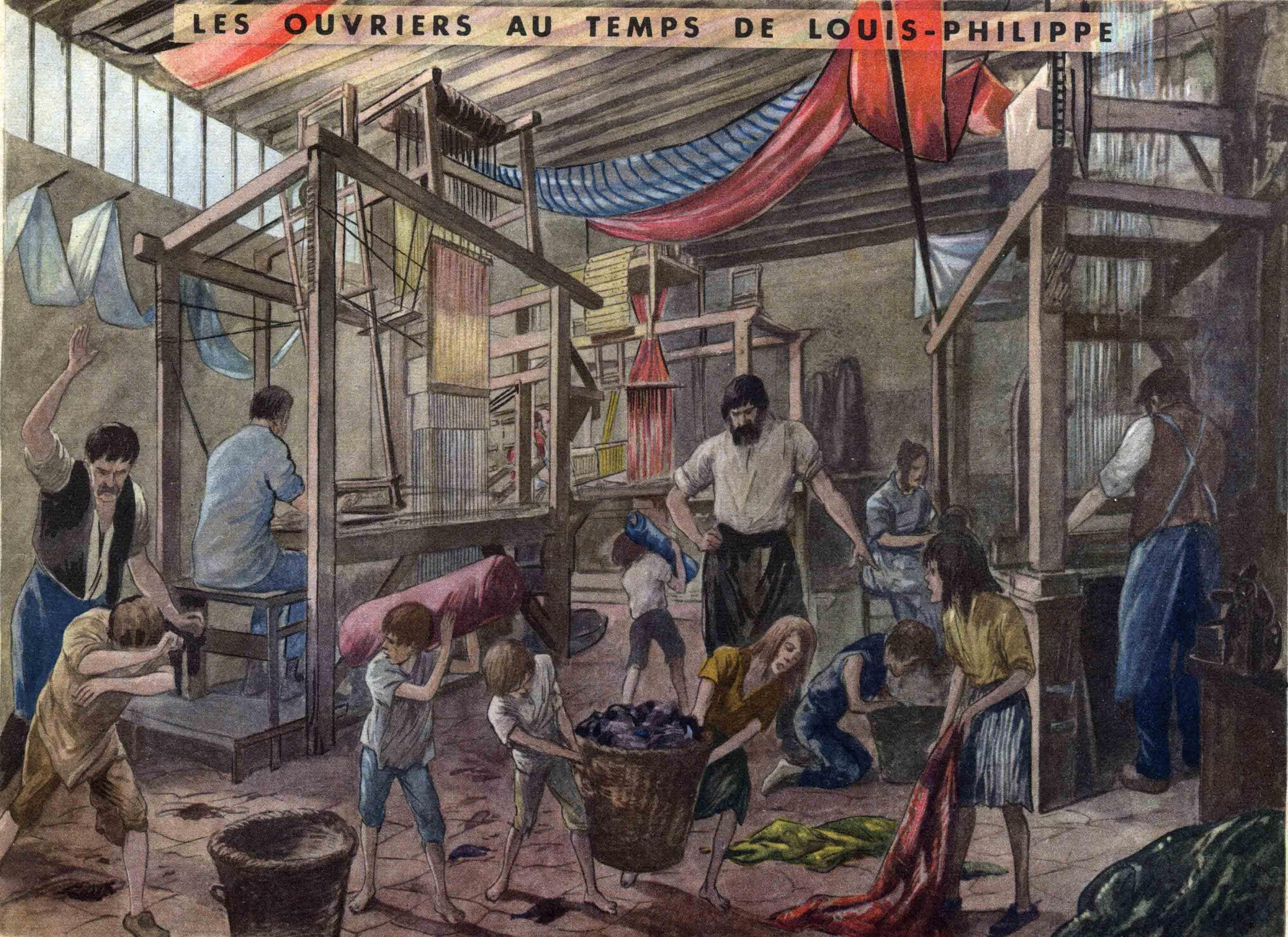 60 les ouvriers au temps de louis philippe