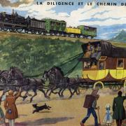 61 la diligence et le chemin de fer