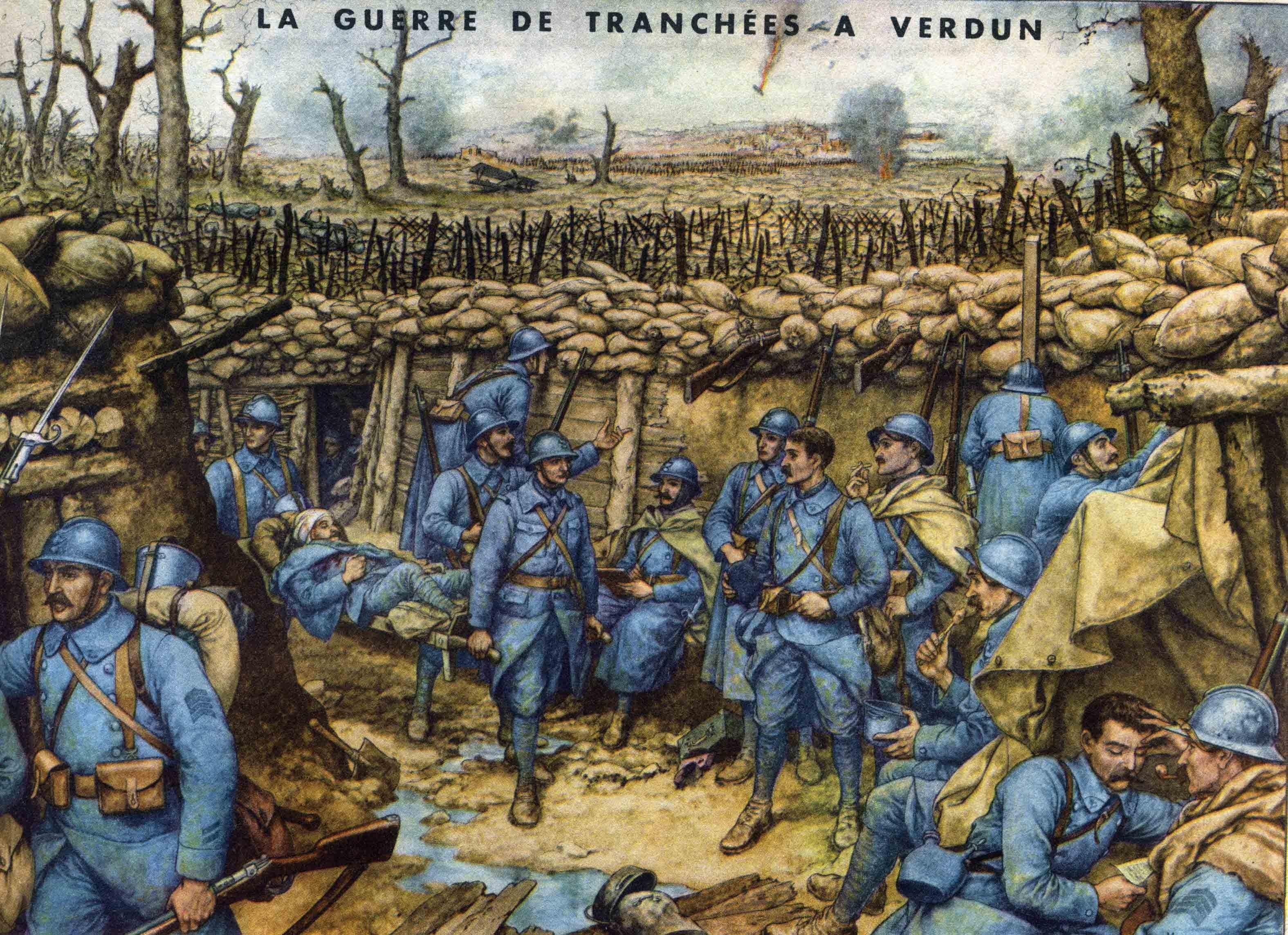 69 la guerre de tranchees a verdun