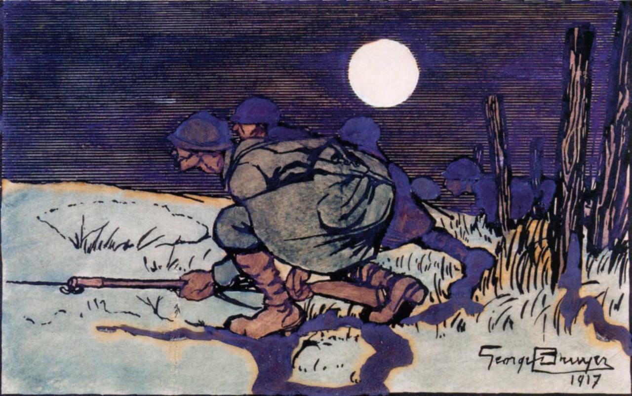 Dessin de soldats 14-18 (107)
