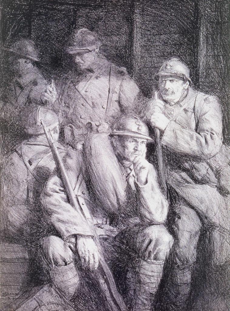 Dessin de soldats 14-18 (111)