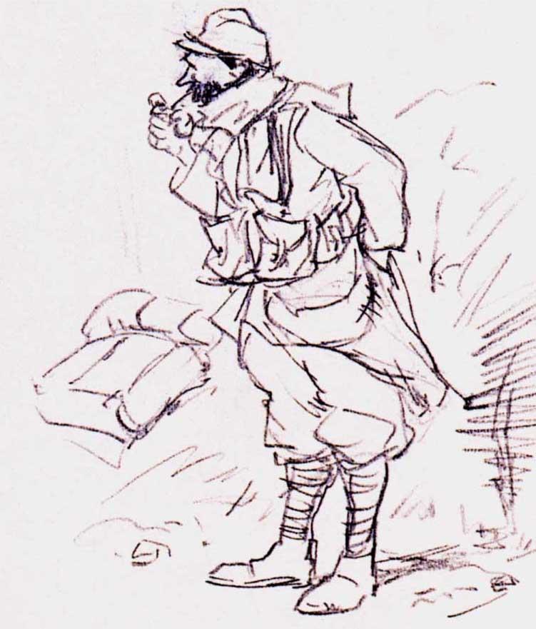 Dessin de soldats 14-18 (127)