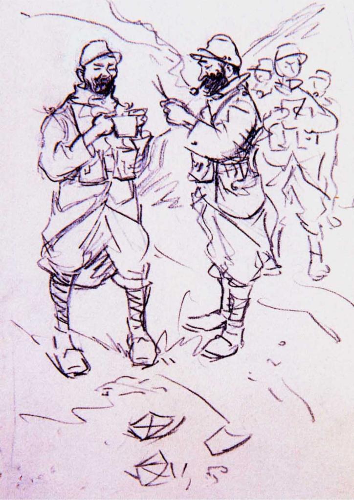 Dessin de soldats 14-18 (130)