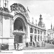 Esplanade des invalides palais de la decoration du mobilier et des industries diverses