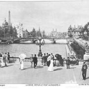 La seine depuis le pont alexandre iii
