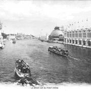 La seine vue du pont d iena