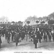 Le banquet des maires arrivee aux tuileries