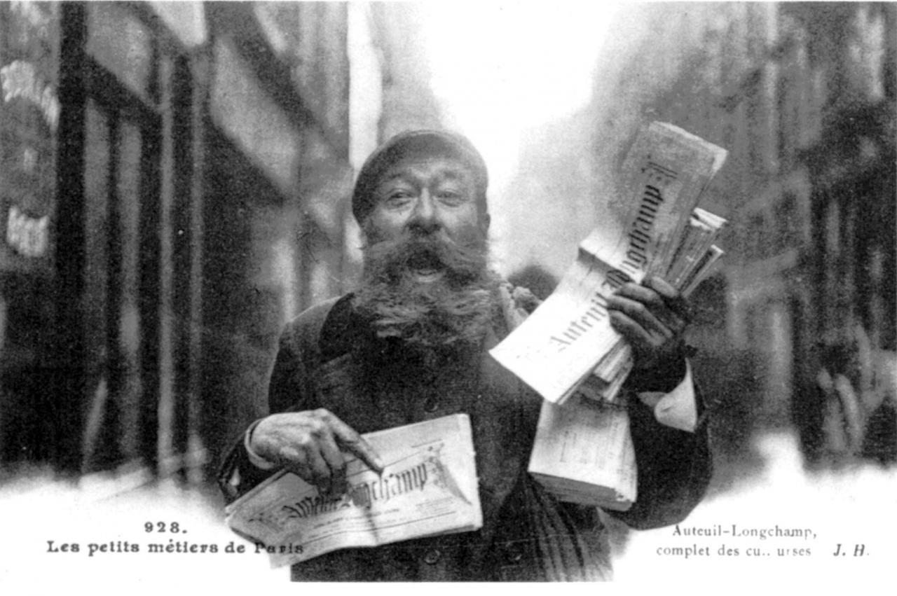 Le crieur de journaux