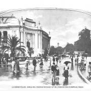 Le grand palais angle de l avenue nicolas ii et de l avenue des champs elysees