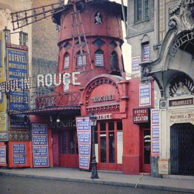 1910 Paris en couleurs