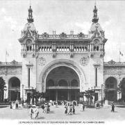 Le palais du genie civil et des moyens de transport au champ de mars