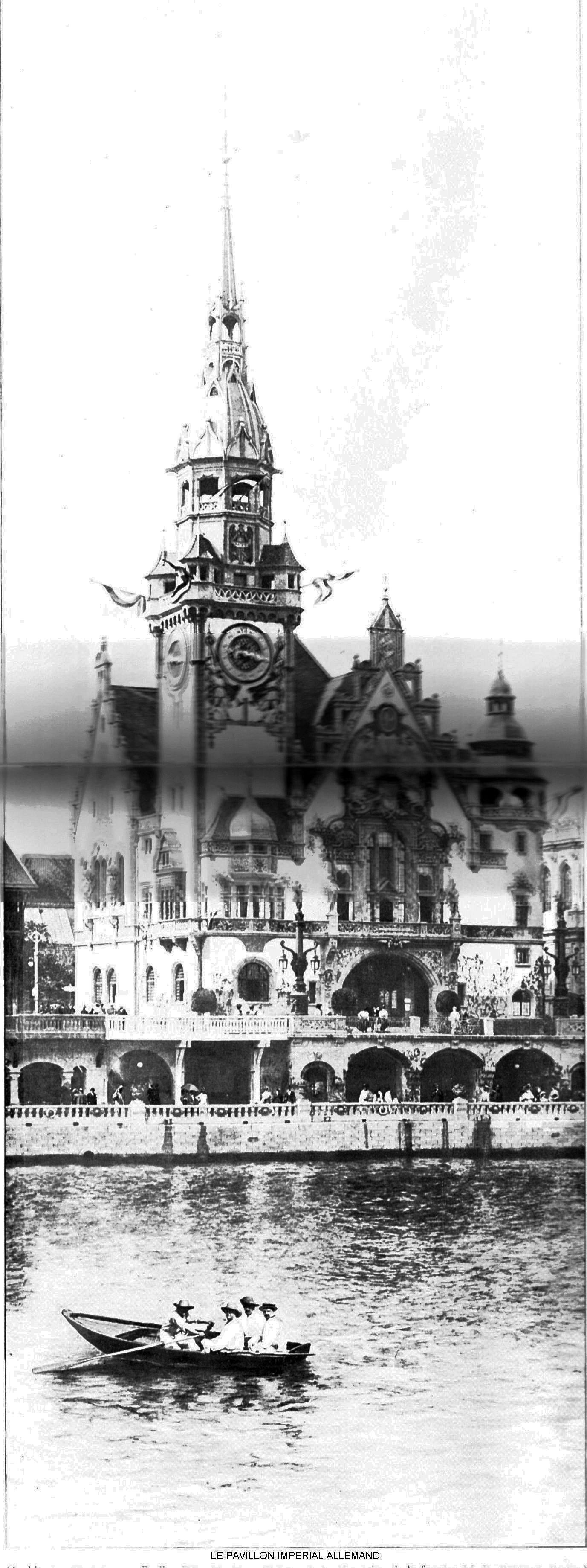 Le pavillon imperial allemand
