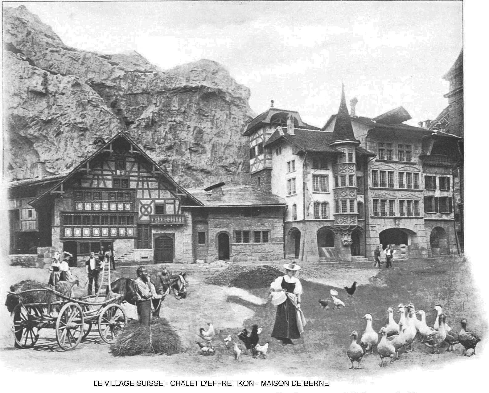 Le village suisse le chalet d effretikon maisons de berne