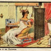 Madame à sa toilette