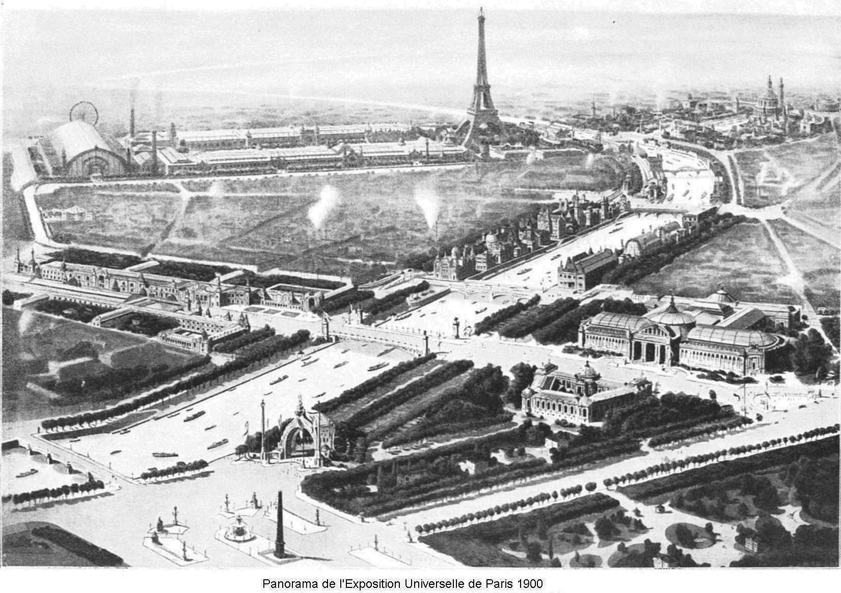 Panorama des sites de l expo