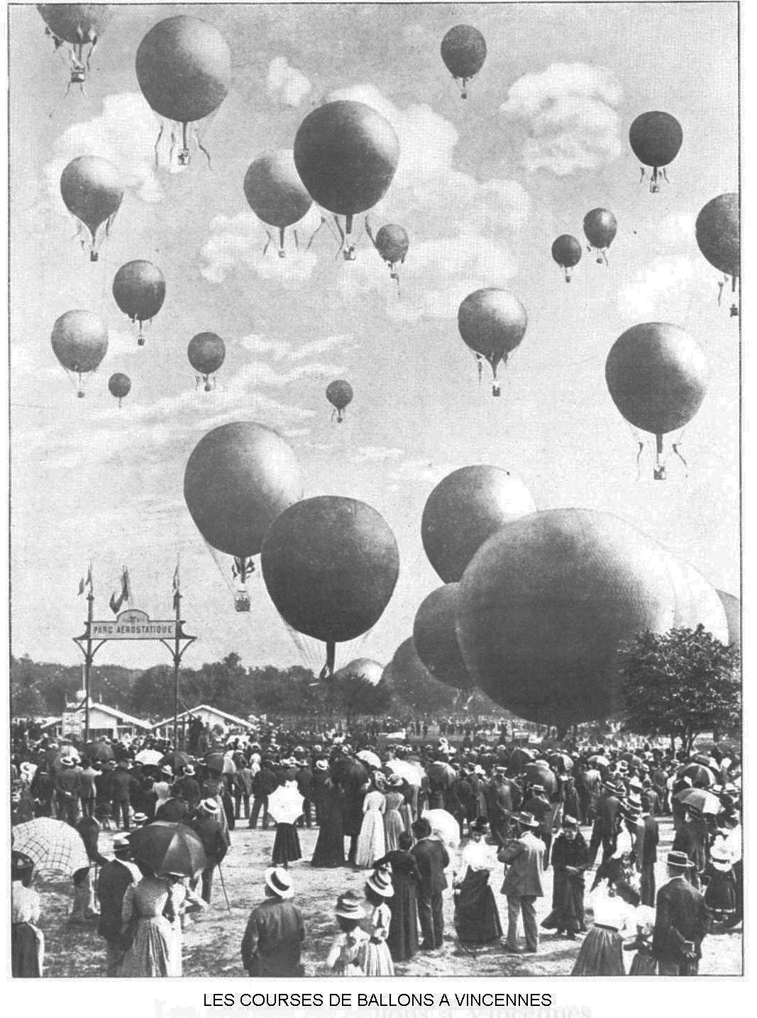 Ressources histoire exposition universelle 1900 course de ballons a vincennes