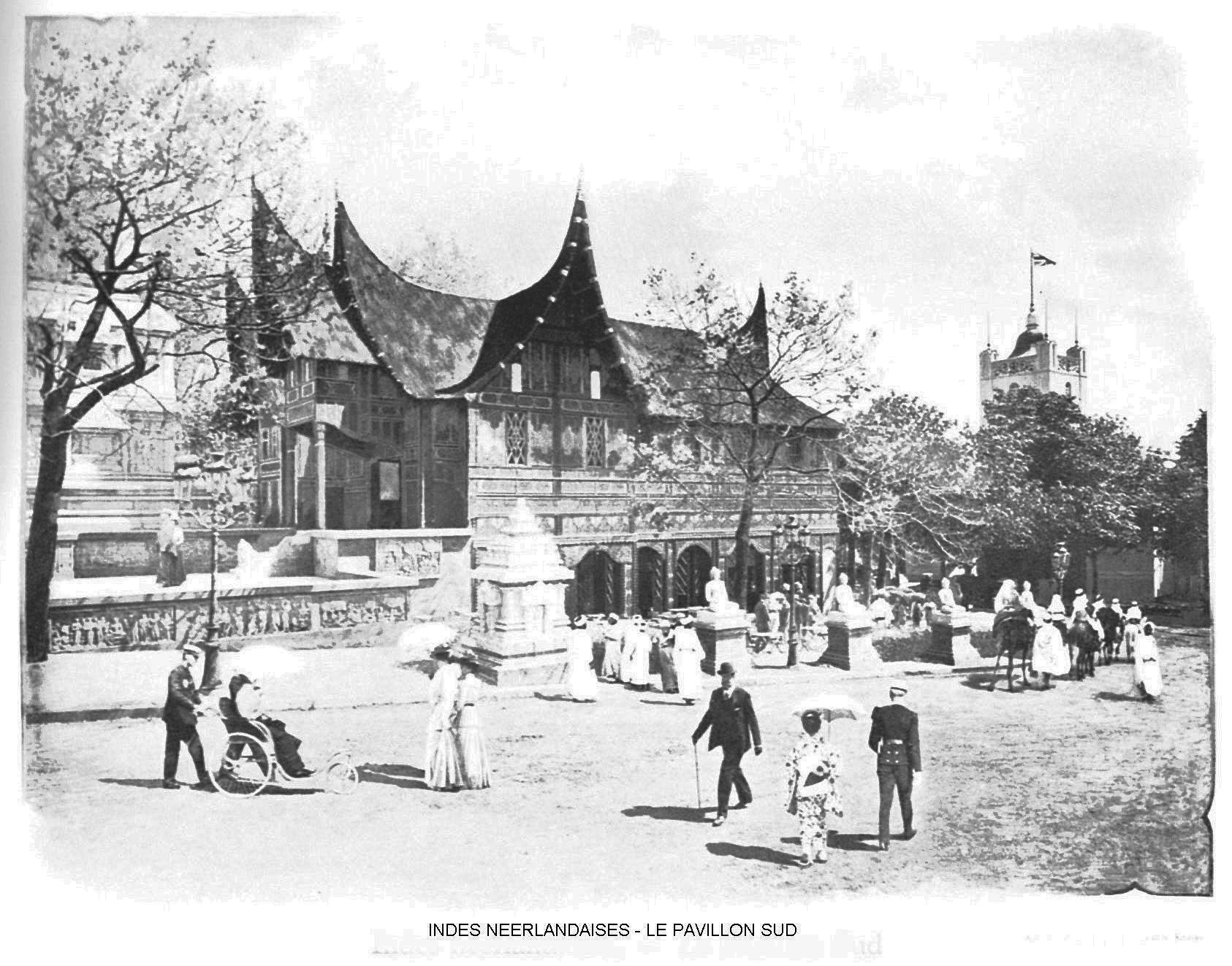 Ressources histoire exposition universelle 1900 indes neerlandaises le pavillon sud