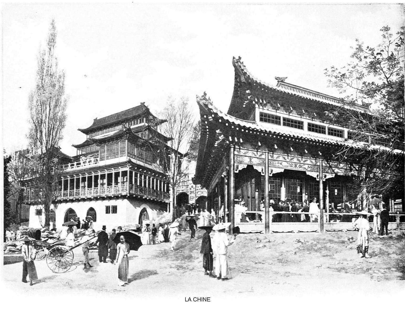 Ressources histoire exposition universelle 1900 la chine