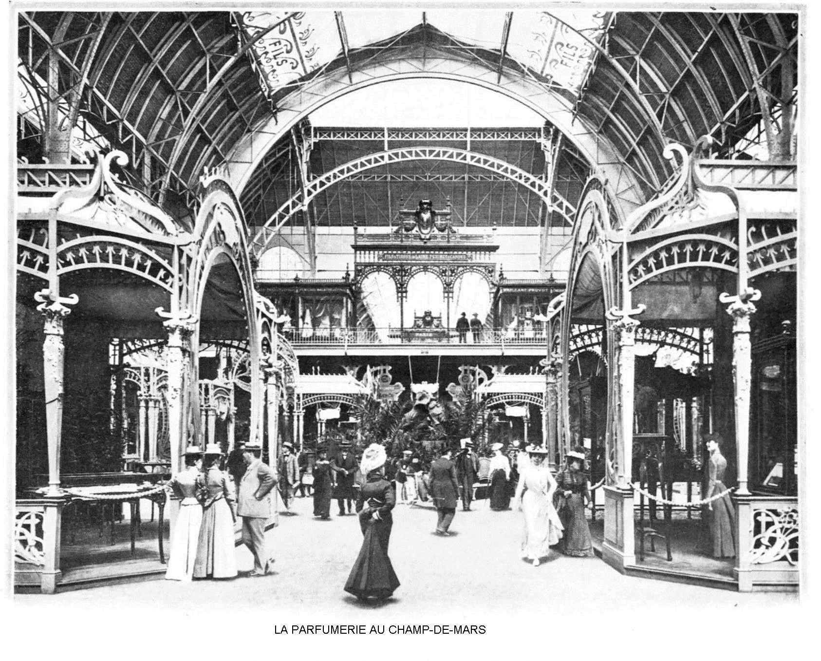 Ressources histoire exposition universelle 1900 la parfumerie au champ de mars