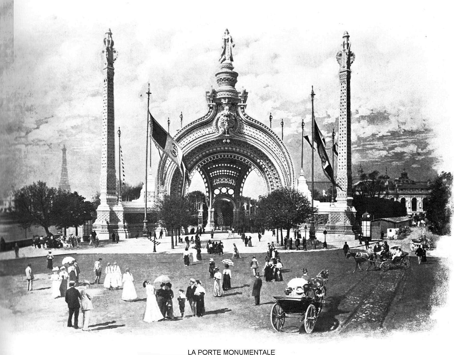 Ressources histoire exposition universelle 1900 la porte monumentale