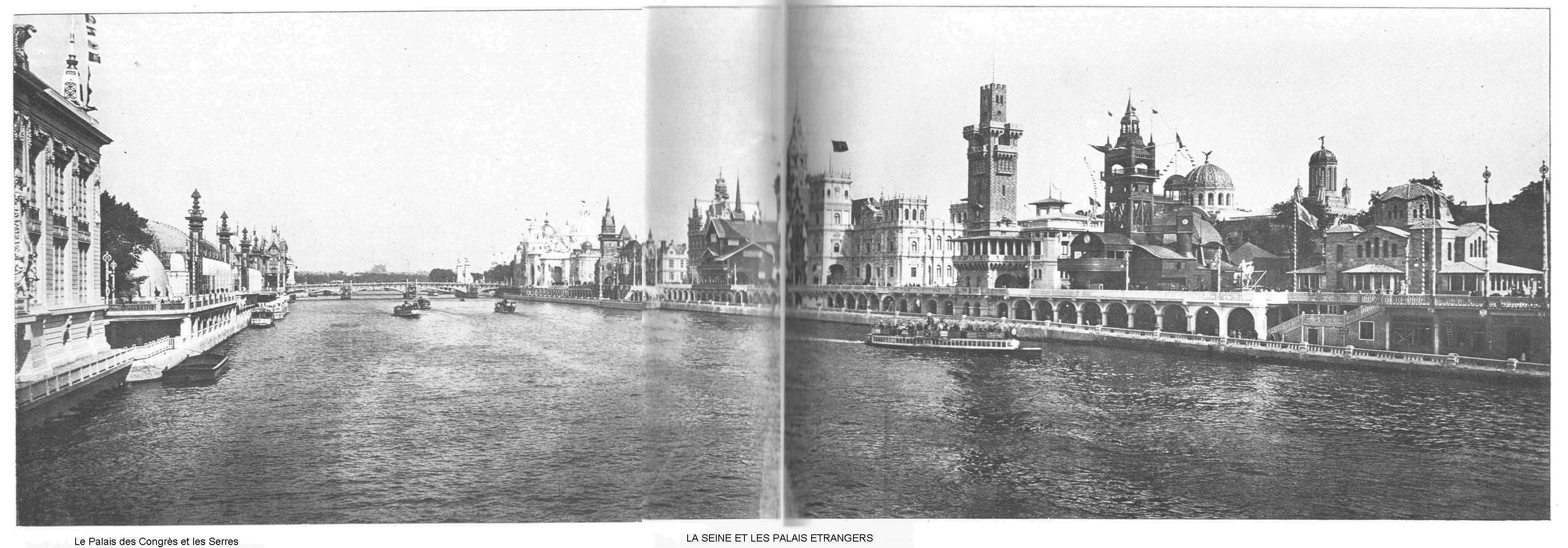 Ressources histoire exposition universelle 1900 la seine et les palais etrangers