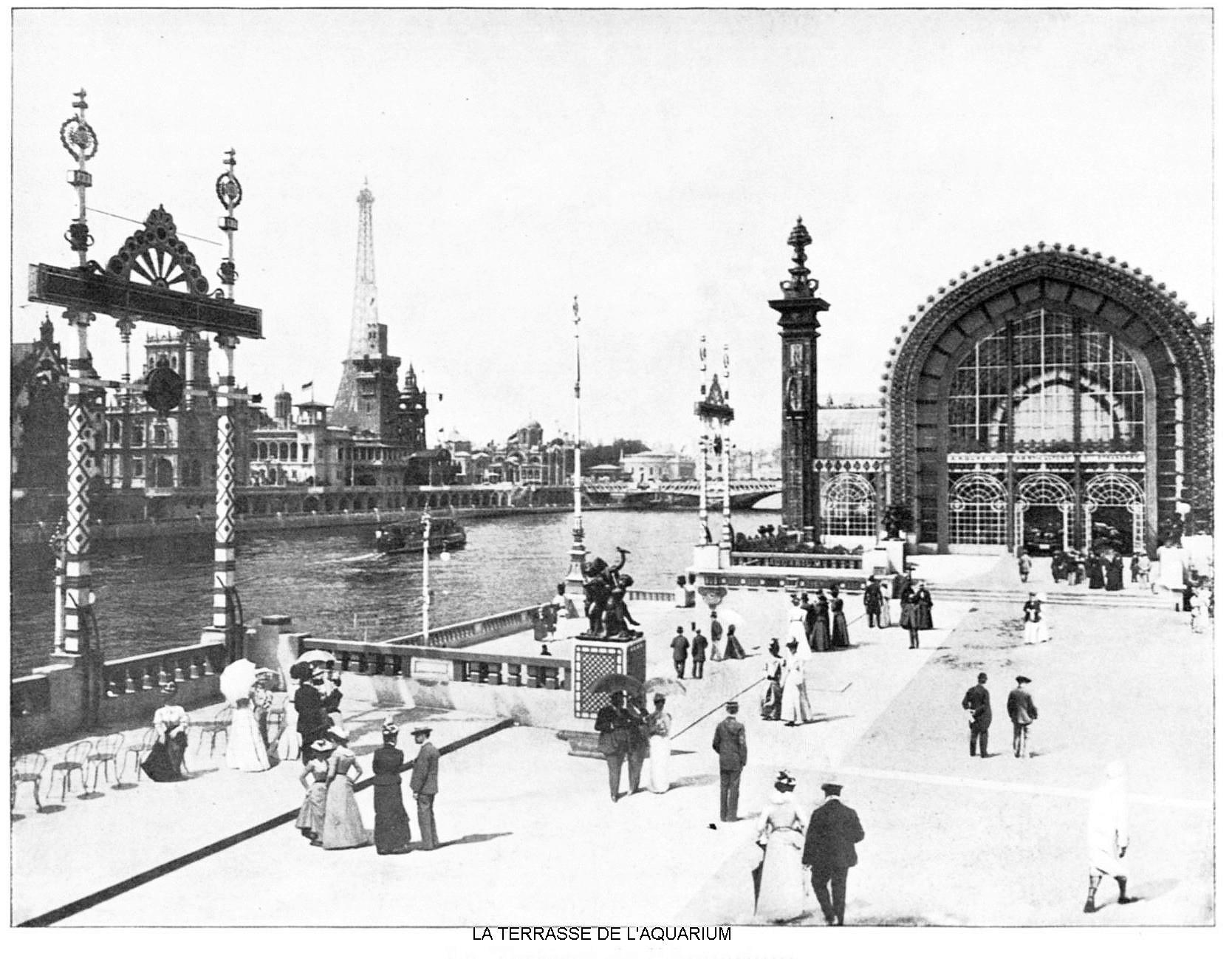 Ressources histoire exposition universelle 1900 la terrasse de l aquarium