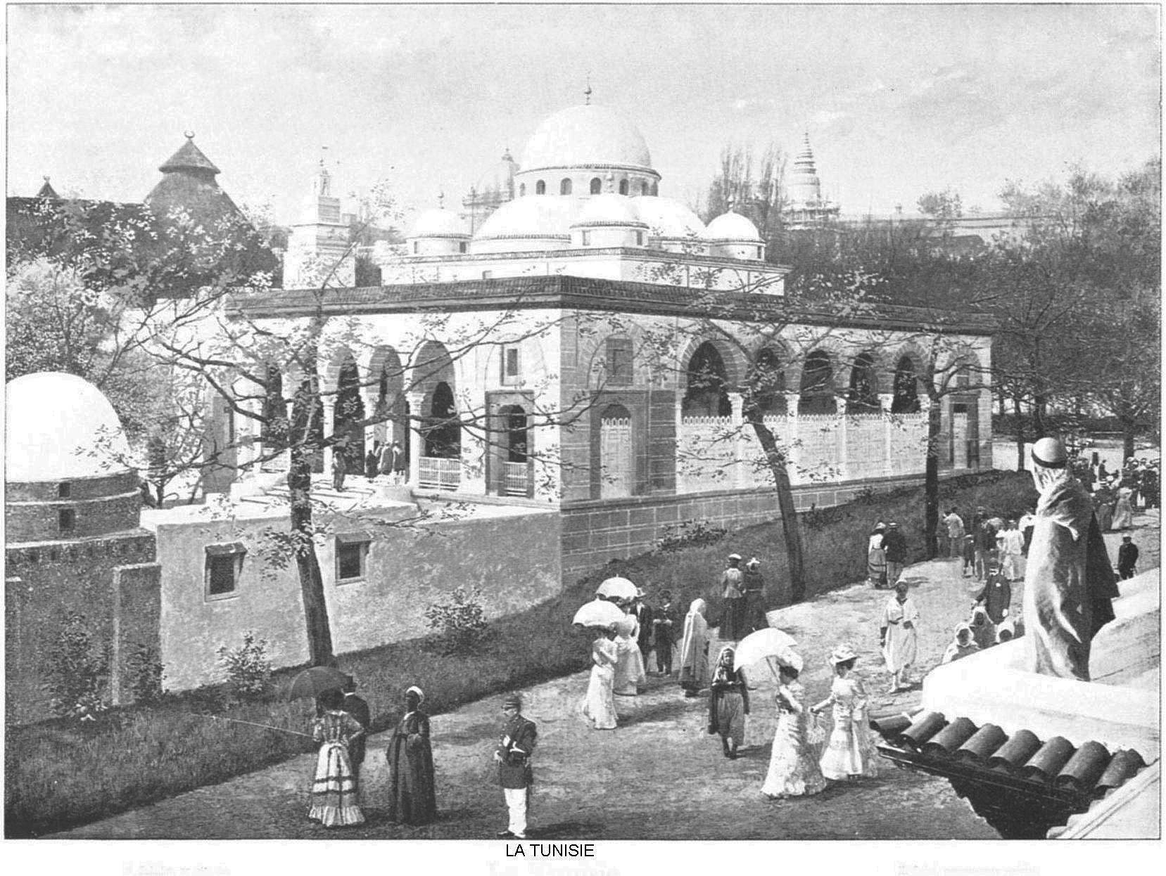Ressources histoire exposition universelle 1900 la tunisie