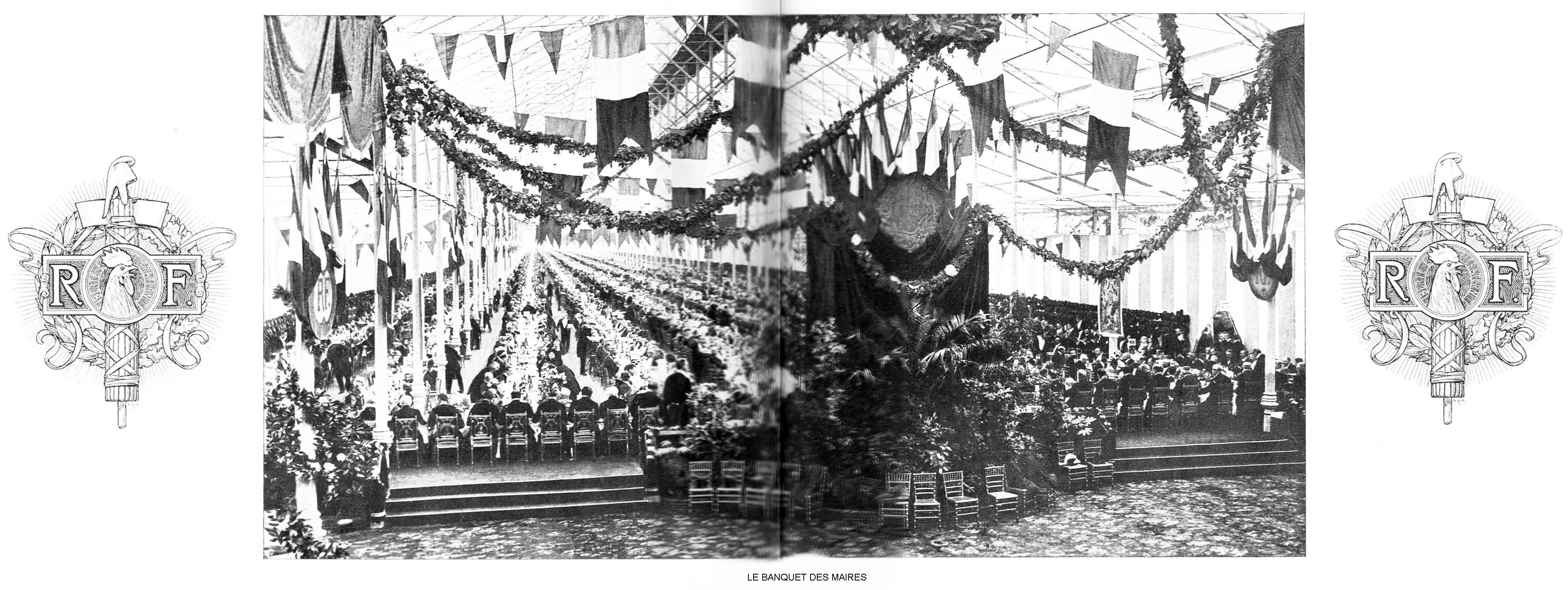 Ressources histoire exposition universelle 1900 le banquet des maires