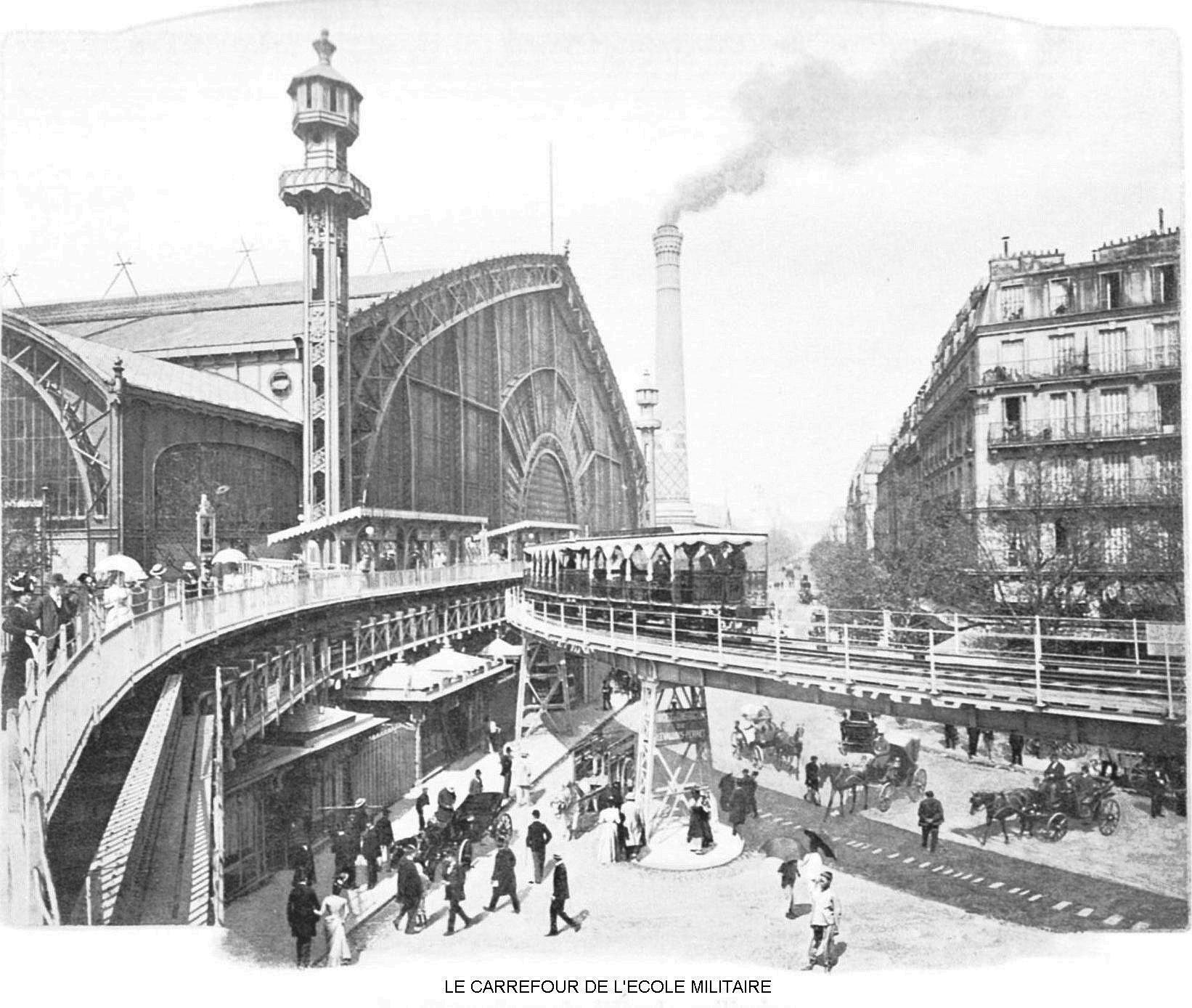 Ressources histoire exposition universelle 1900 le carrefour de l ecole militaire