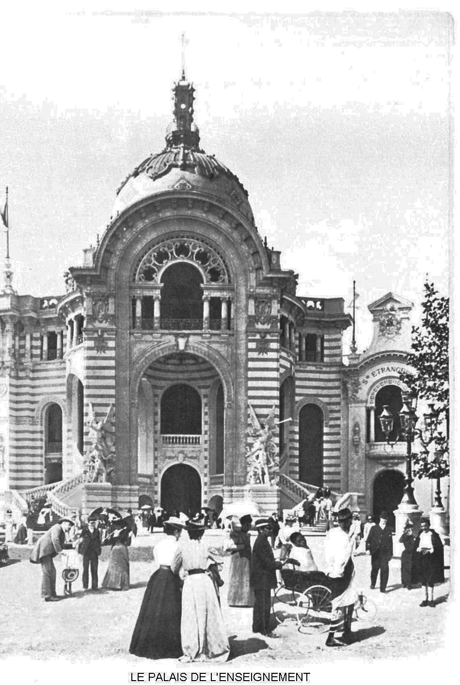 Ressources histoire exposition universelle 1900 le palais de l enseignement