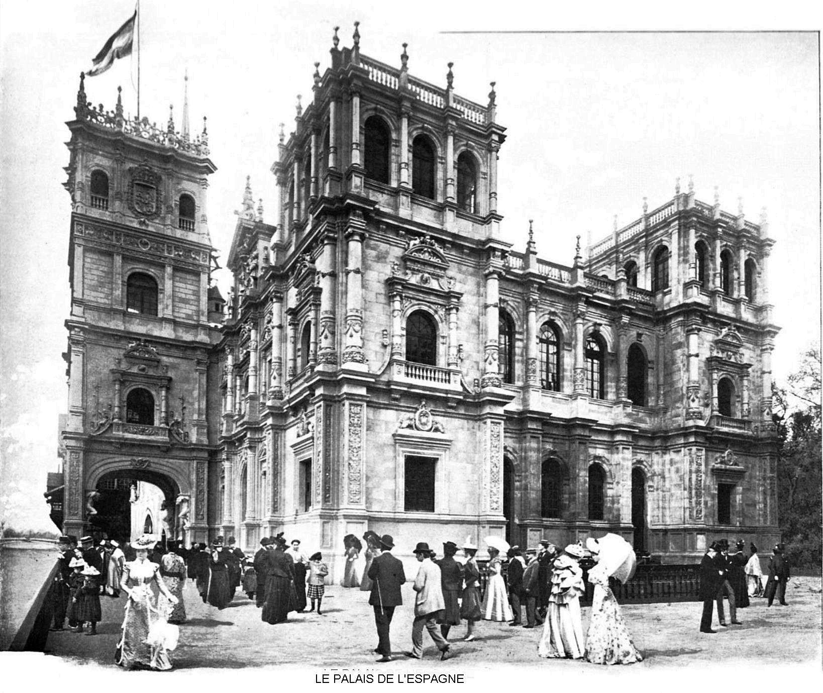 Ressources histoire exposition universelle 1900 le palais de l espagne