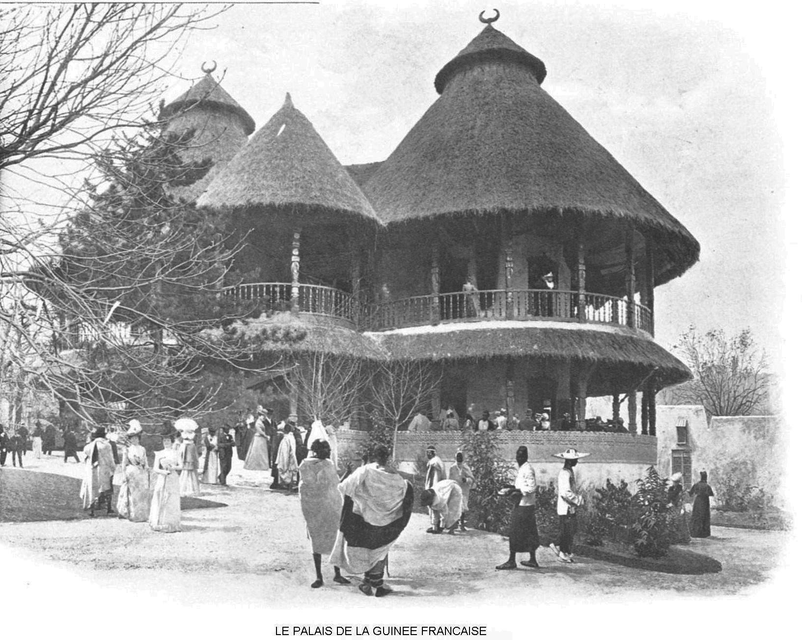 Ressources histoire exposition universelle 1900 le palais de la guinee francaise