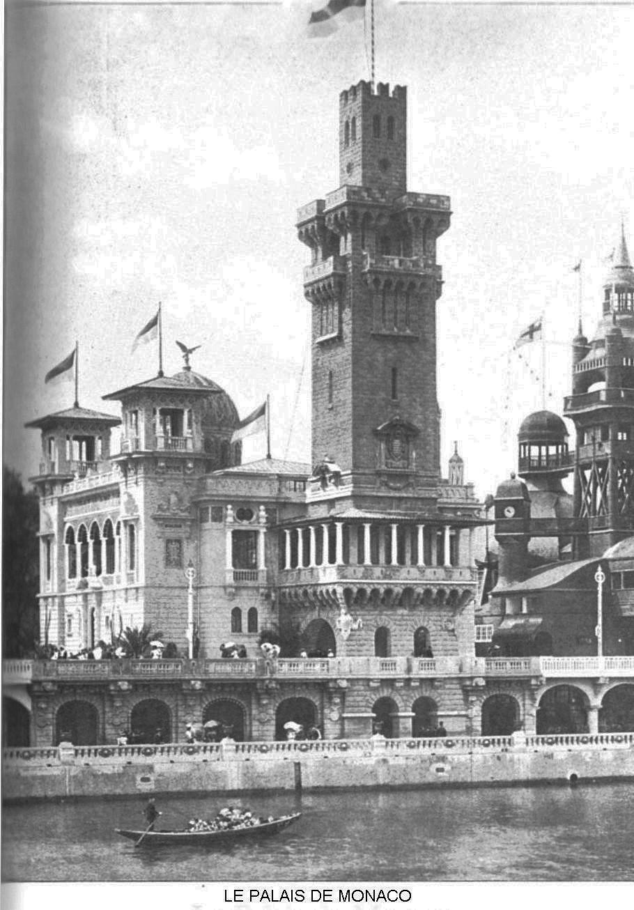 Ressources histoire exposition universelle 1900 le palais de monaco