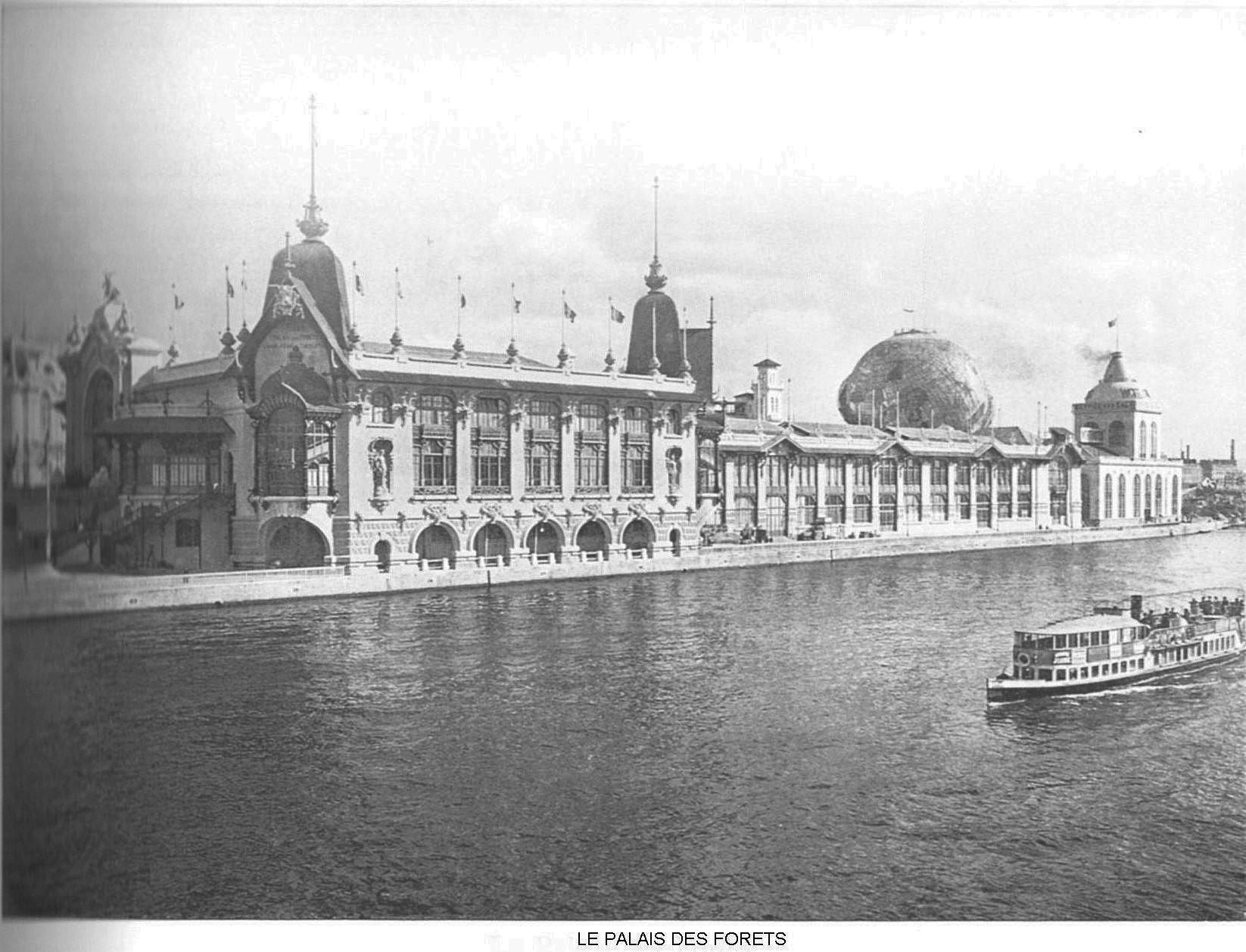 Ressources histoire exposition universelle 1900 le palais des forets