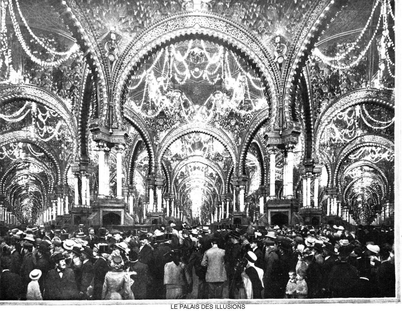 Ressources histoire exposition universelle 1900 le palais des illusions