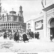 Un cortege colonial au trocadero