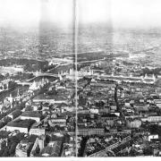 Vue de l expo du haut de la tour eiffel