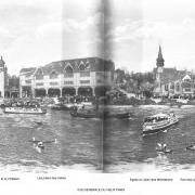 Vue generale du vieux paris